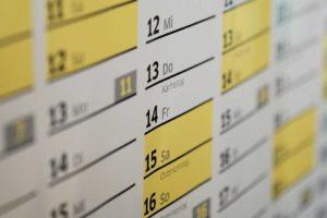 платіжний календар, складання календаря, платежный календарь