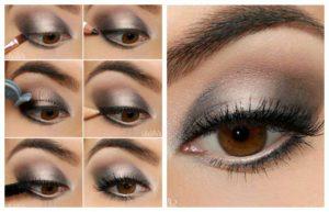 макияж для карих глаз, карие глаза, накрашенные глаза, мейкап для глаз