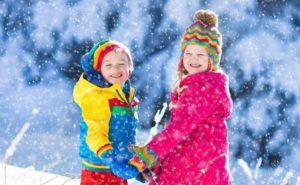 Здорові діти зимою