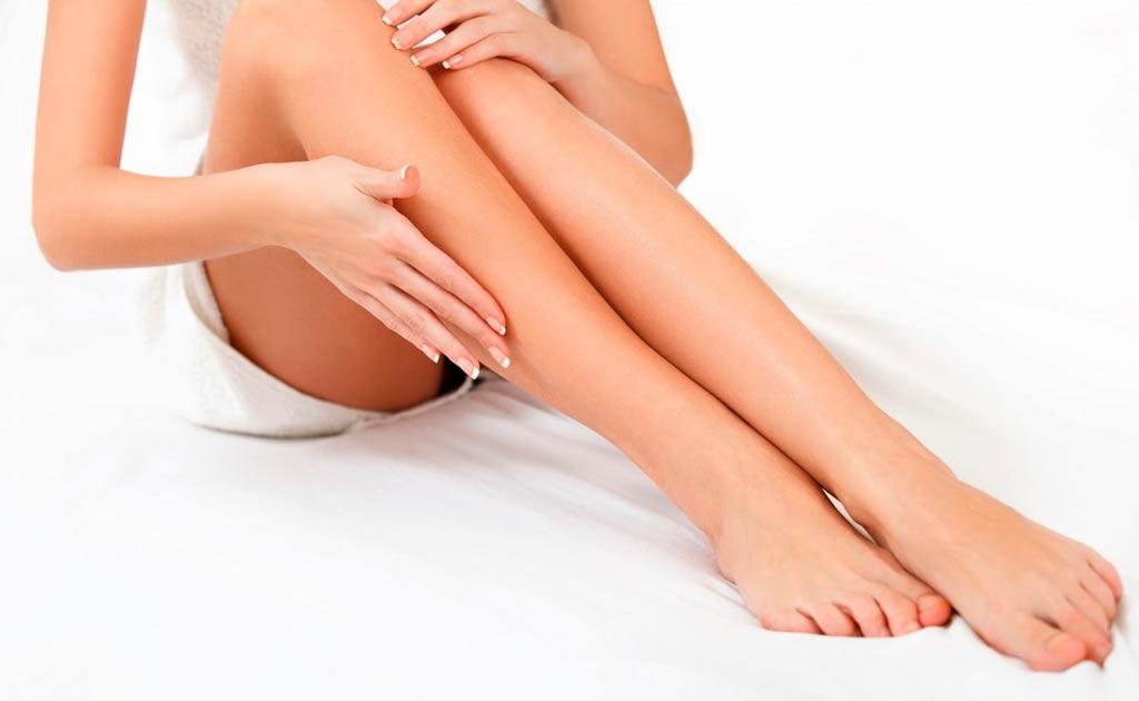 Догляд за ногами для гоління